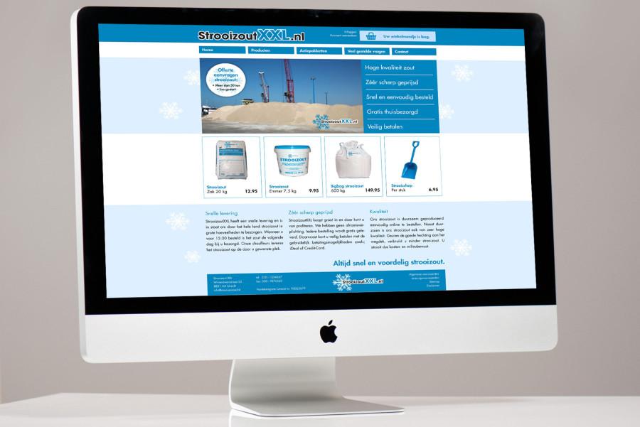 StrooizoutXXL ontwerp webshop